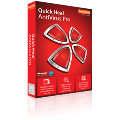 Quick Heal Antivirus Pro - 3 User - 3 Year